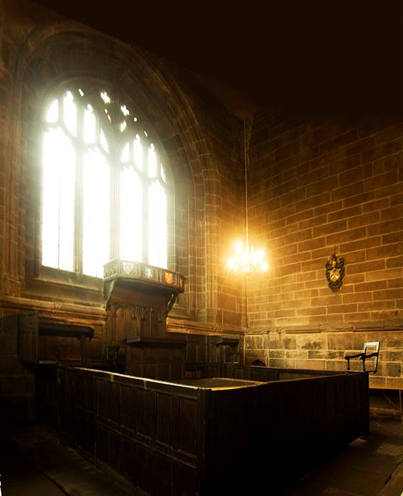 Chester Cathedral consistory court. (Joopercoopers / CC BY-SA 3.0)