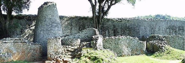 The mysterious stone kingdom of the great zimbabwe ancient origins conical tower at great zimbabwe sciox Image collections