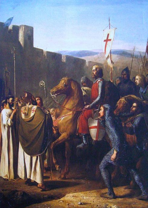 Count Baldwin liberates Christian Edessa from Muslim control, during the First Crusade