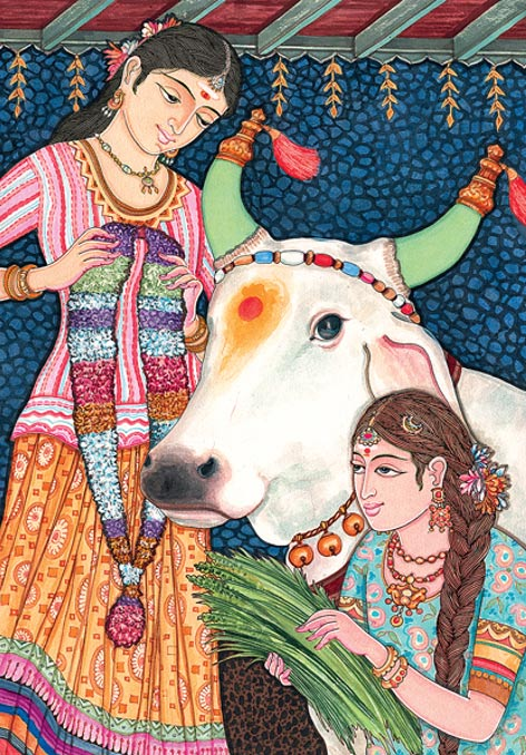 The ancient Hindu belief holds cows as symbols of abundance, power, and altruistic giving.