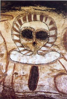The Australian Aboriginal image of Wandijna