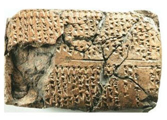 Cuneiform tablet uncovered at Ziyaret Tepe