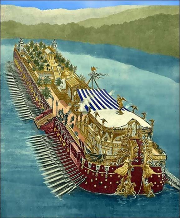 Eros Basilius Depiction-of-one-of-the-Nemi-ships