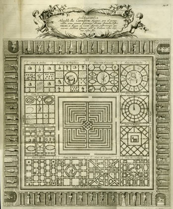 The diagram of the Egyptian labyrinth