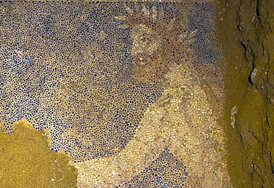 The driver of the chariot - Mosaic Amphipolis tomb