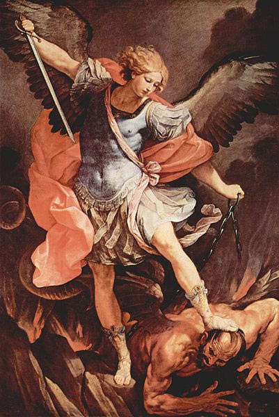 A depiction of Archangel Michael