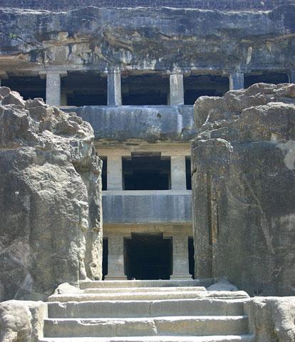 Entrance to Ellora Caves