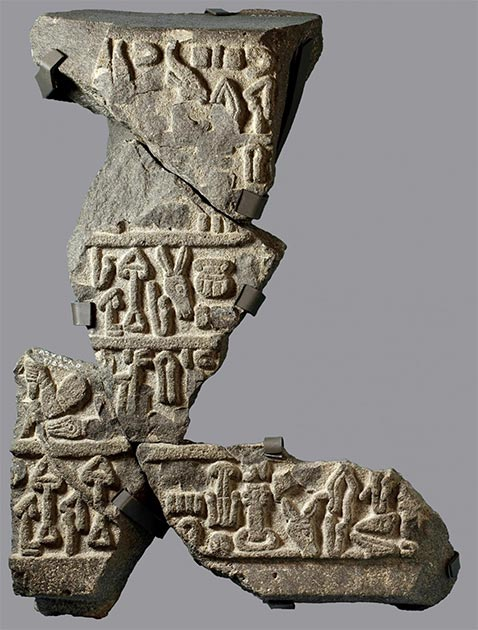 Example of the Luwian language, uncovered from a nearby dig. (Oriental Institute)