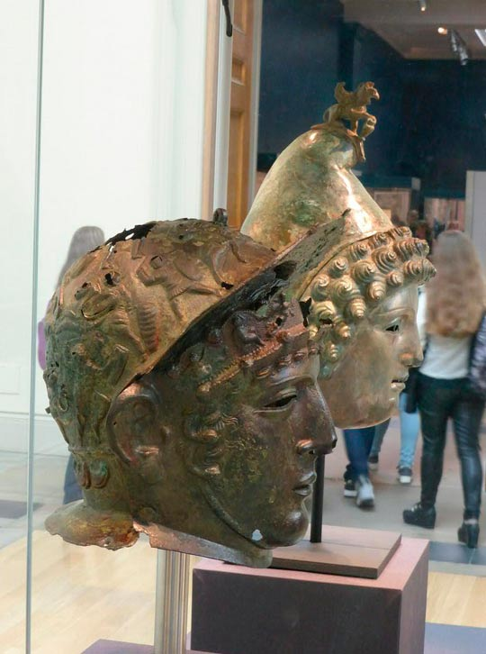 Following its successful exhibition at Tullie House Museum and Art Gallery in 2013, the Crosby Garrett Helmet went on display alongside the iconic Ribchester Helmet at the British Museum in early 2014