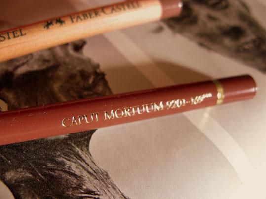 Faber Castell 'Caput Mortuum'