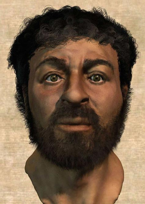 Richard Neave has recreated the face of Jesus (pictured), using forensic techniques.