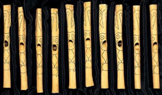 The people of Caral fashioned flutes from the bones of condors and pelicans.