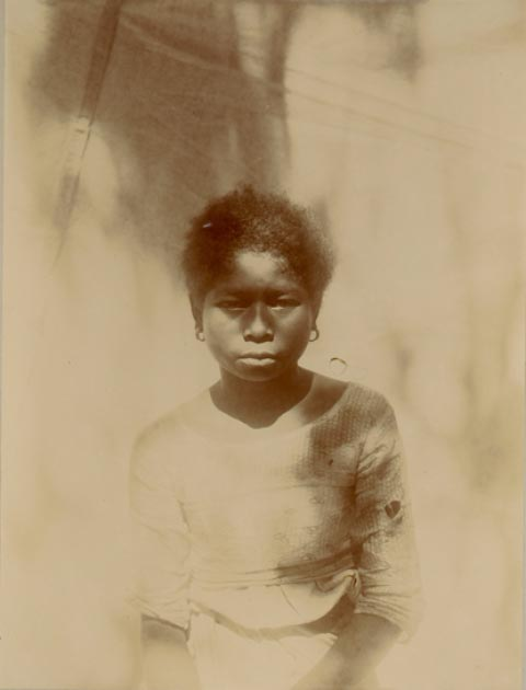 Female of an Aeta tribe, the Negrito population of the island of Luzon in the Philippines. Wiki Commons Agreement 2019/public domain.