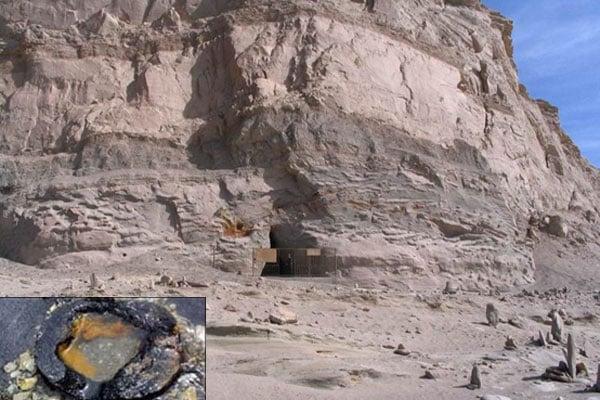 Đường ống nước có niên đại 150 ngàn năm tuổi tại Trung Quố