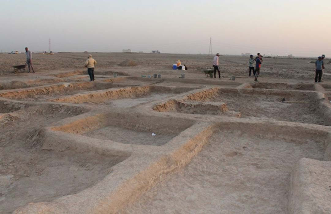 4000 year old sumerian port shows the famed civilization excelled one of the buildings uncovered at the sumerian port town of abu tbeirah its function fandeluxe Images
