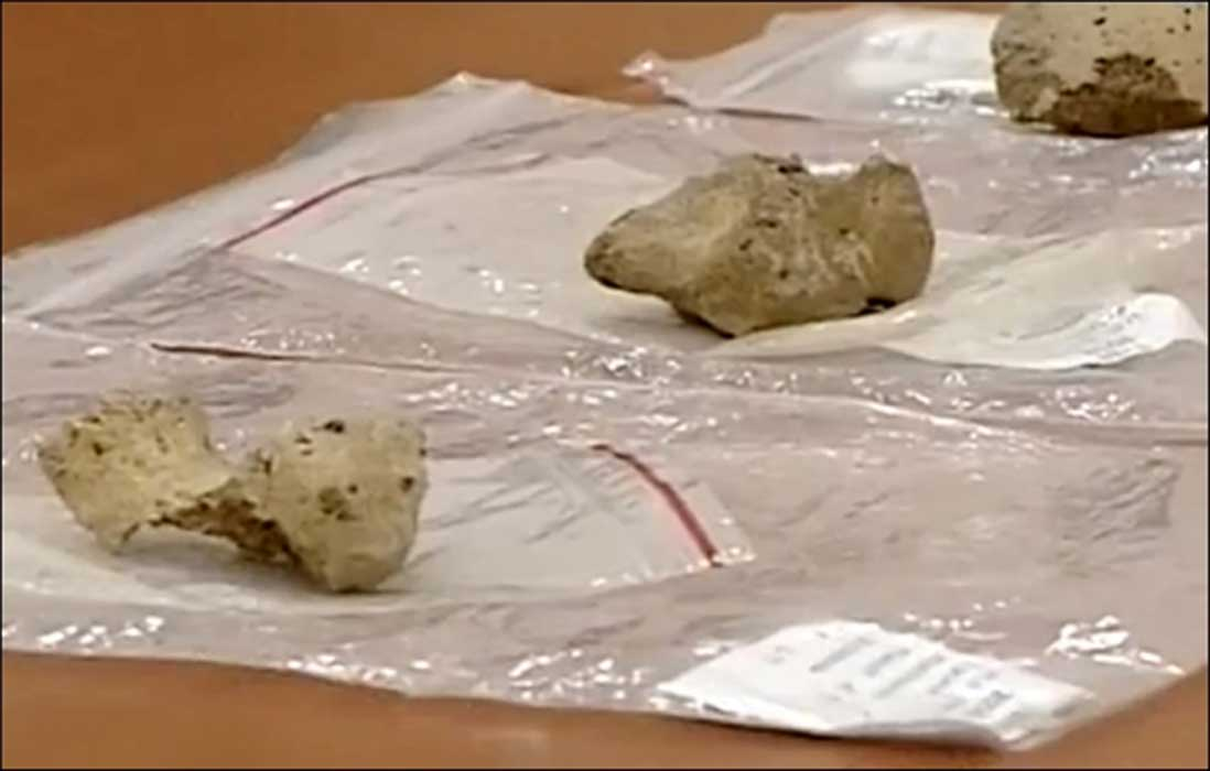 The older set of bones found on Tuyana site dated to 50,000 years ago. Source: Vesti Irkutsk