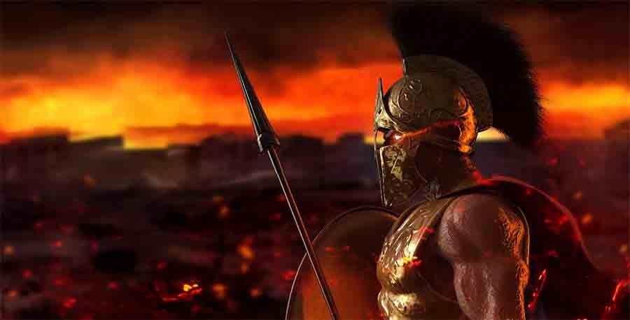 Ancient Greek warrior. Source: breakermaximus / Adobe Stock