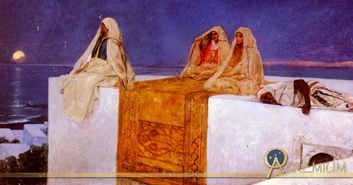 Arabian Nights by Jean-Joseph Benjamin Constant (1845 – 1902) (Public Domain)