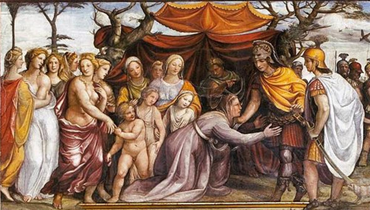 The influential women that surrounded and aided alexander the great the women of dariuss family before alexander the great c 1517 by kristyandbryce Choice Image