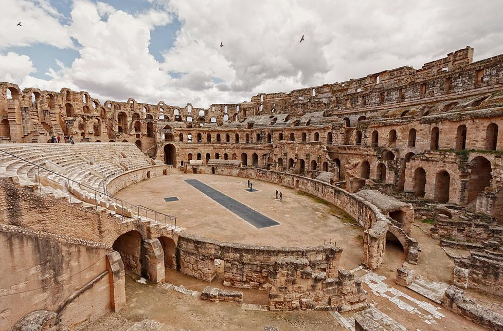 The Amphitheatre of El Djem