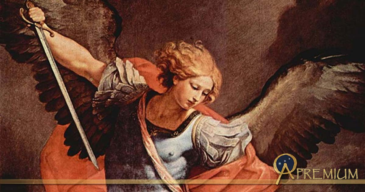Guido Reni's archangel Michael (in the Capuchin church of Santa Maria della Concezione, Rome, 1636) tramples Satan.