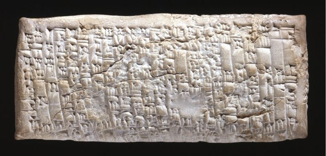 4000 year old ancient babylonian tablet is oldest customer service 4000 year old ancient babylonian tablet publicscrutiny Choice Image