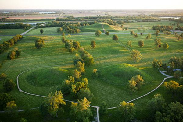 Ancient Cahokia Mounds