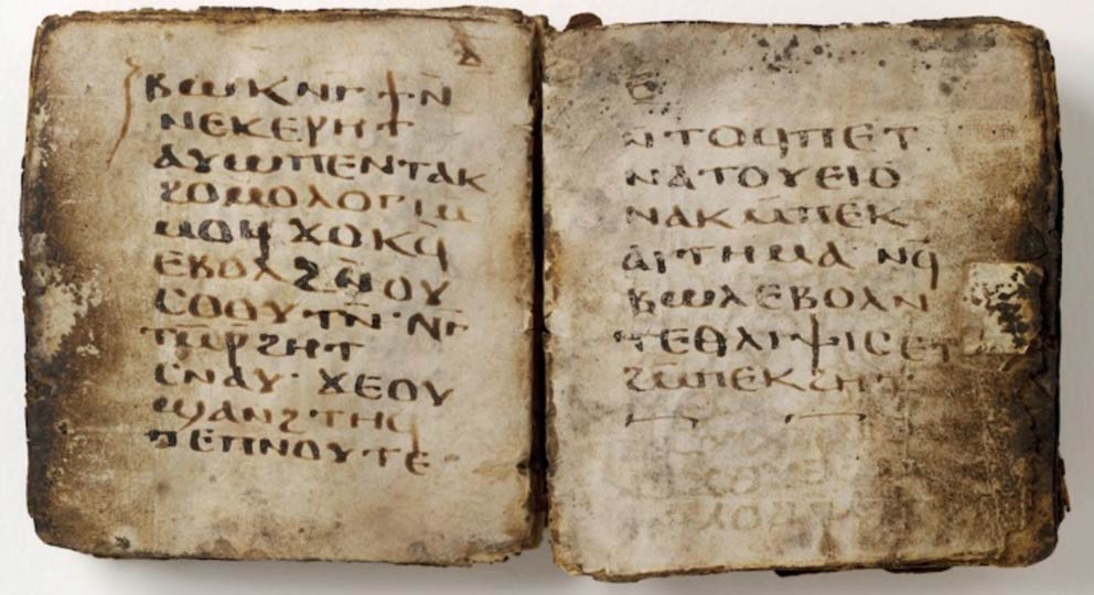 Photo showing the pages of the 25th oracle