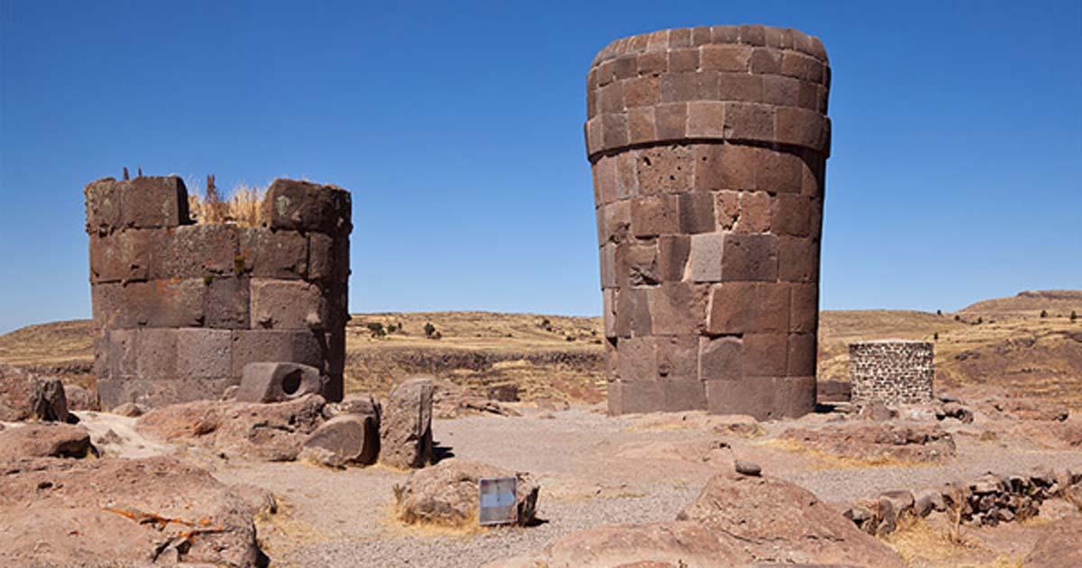 Chullpas, Sillustani, Peru