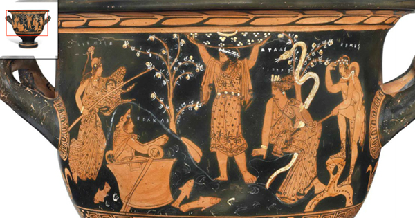 Ancient Greek Vase Celebrates The Exaltation Of Our Ancestors As