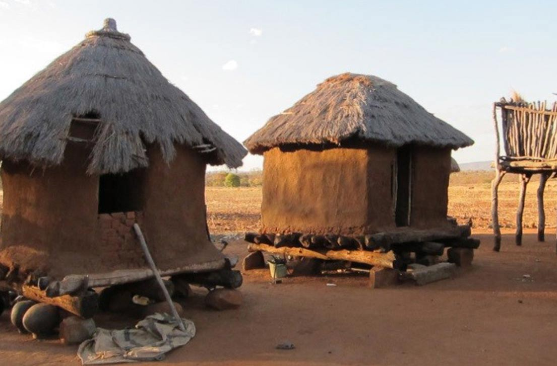 how to make an african hut