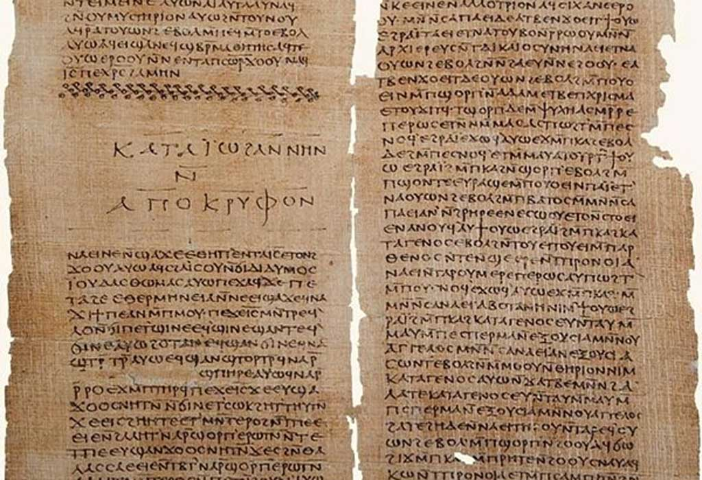 Gospel of Thomas and The Secret Book of John (Apocryphon of John), Codex II The Nag Hammadi manuscripts