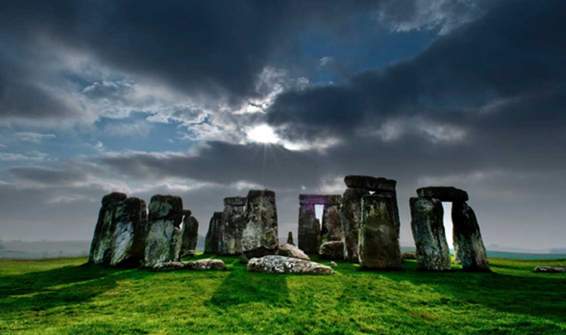 Ancient Stonehenge Landscape.'