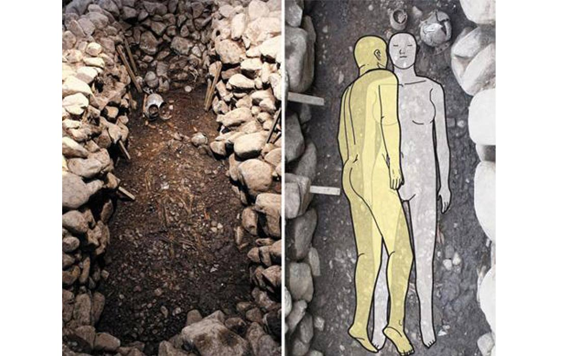 Man Cave Antigo : Discovery of ancient tomb suggests man was sacrificed to