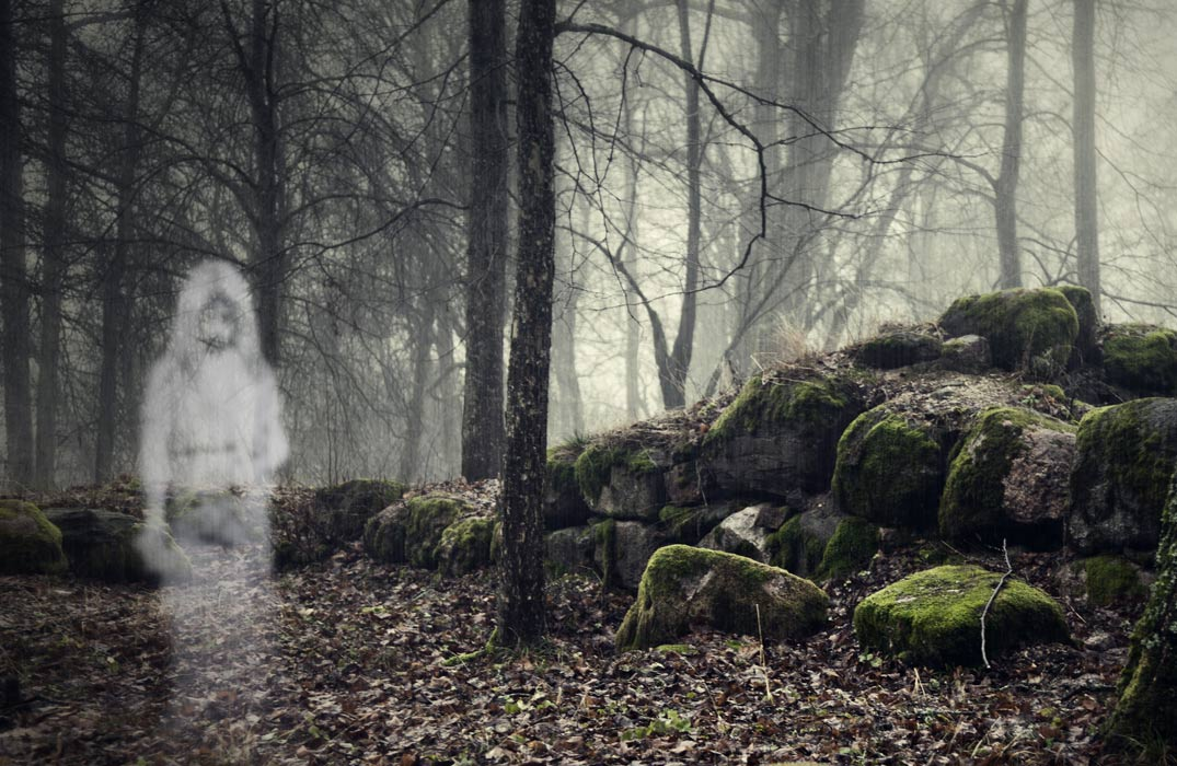 There are many legends of ancient hauntings at prehistoric burial mounds.
