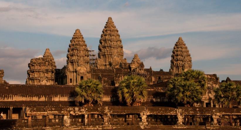 La espectacular arquitectura de Angkor Wat, Camboya