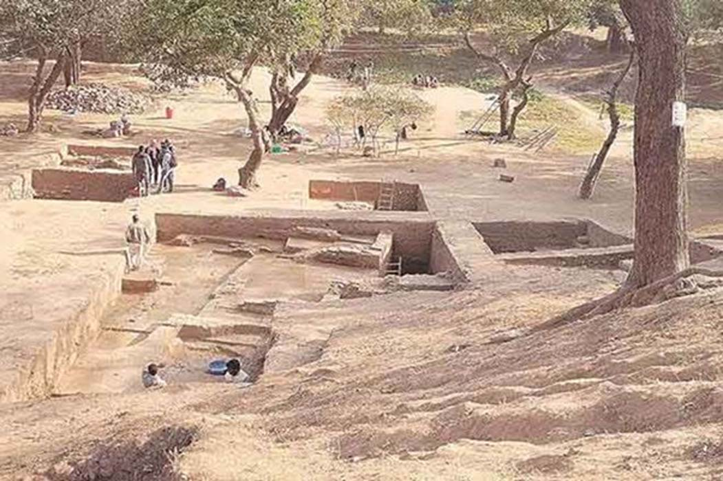 Capital of Vakataka dynasty excavated in Nagpur