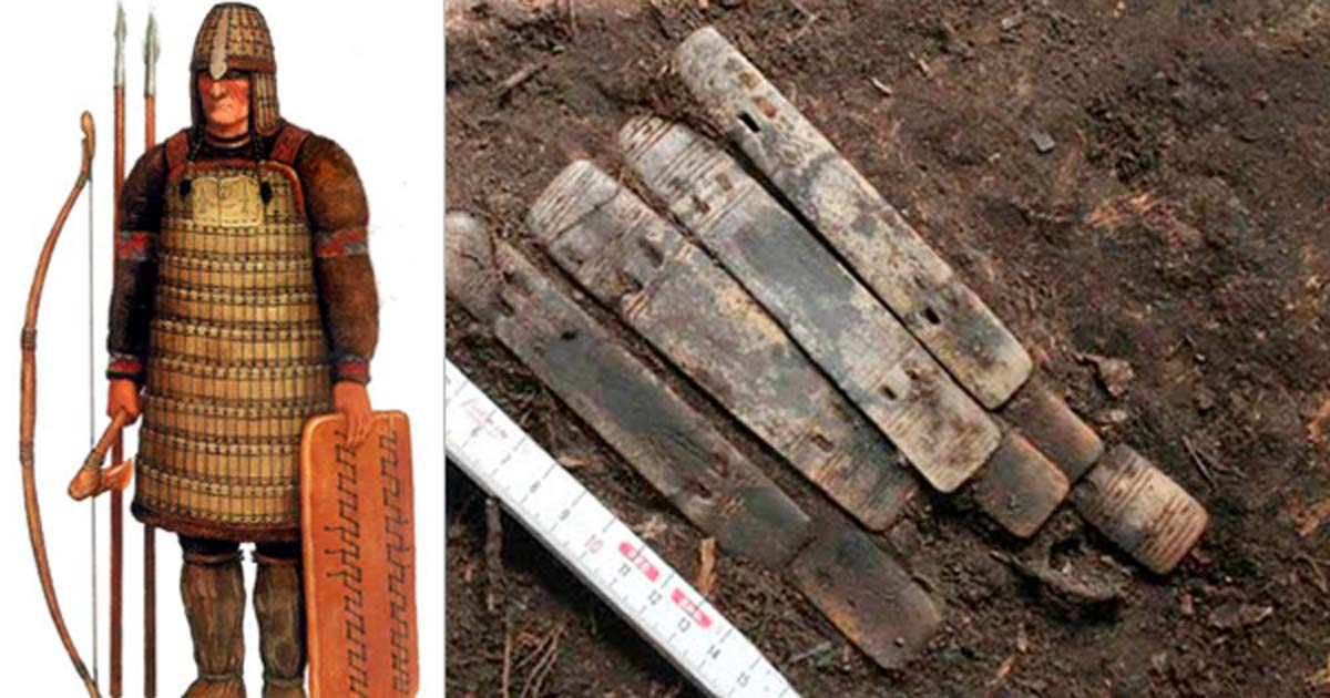 2,000-year-old Warrior Armor Made of Reindeer Antlers Found on the Arctic Circle