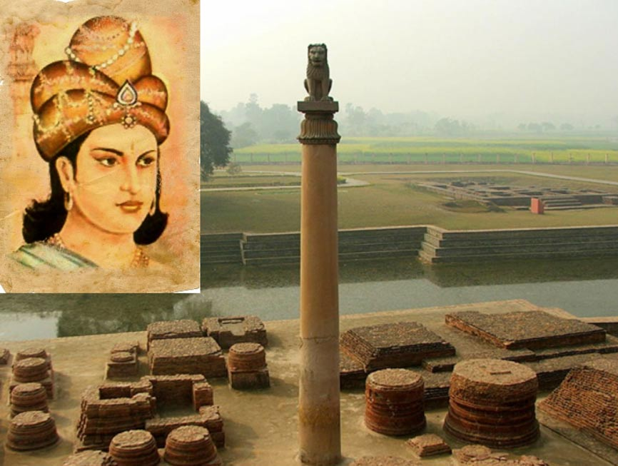 Picture of king ashoka the great