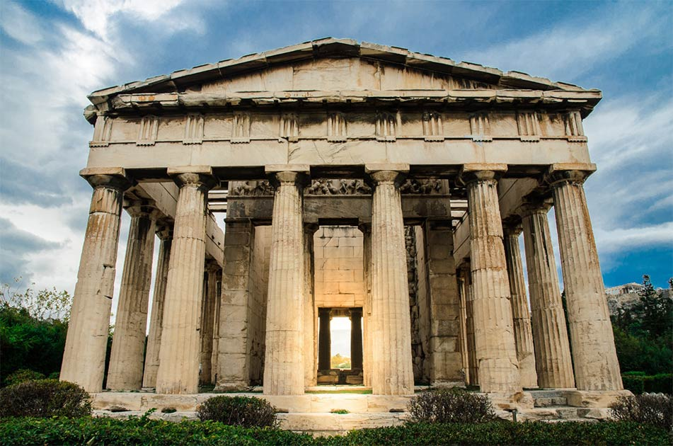Athenian Agora, Where Some of the World's Greatest Philosophers Gathered