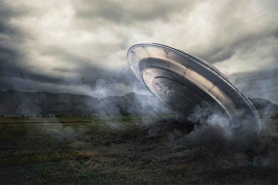 The Aurora airship incident is a supposed example of a UFO crash landing in Texas. Source: fergregory /Adobe Stock