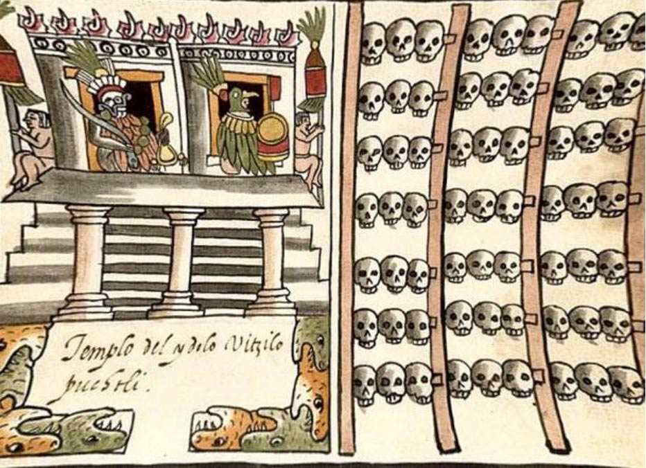 New Research Shows that Gruesome Aztec Sacrifices included ...