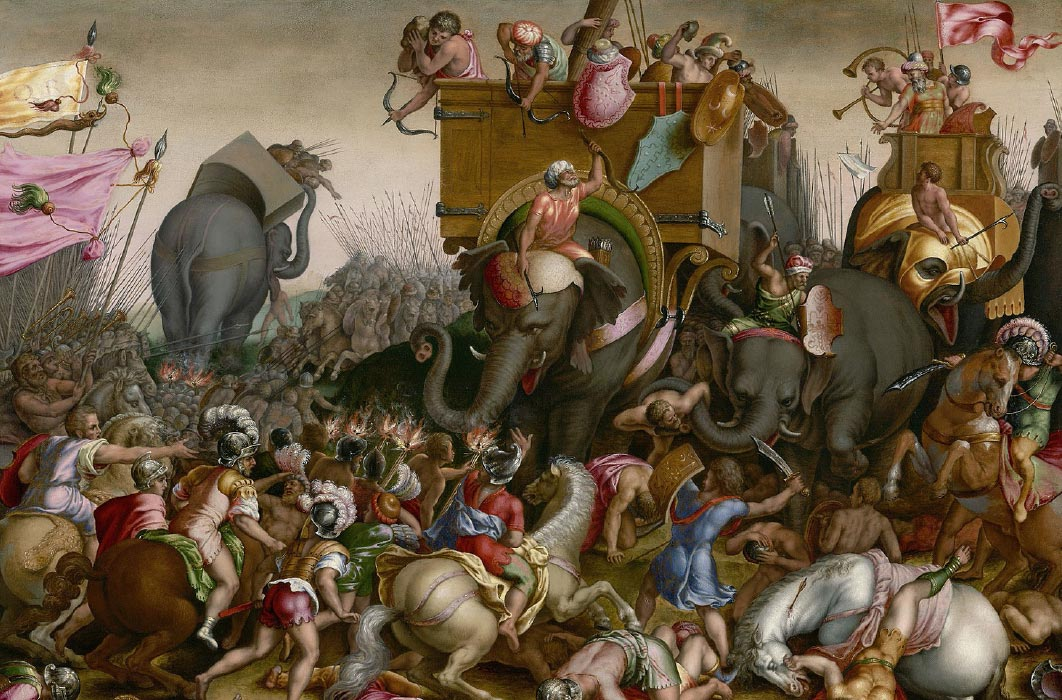 The Battle of Zama. Source: Art Institute of Chicago / Public domain