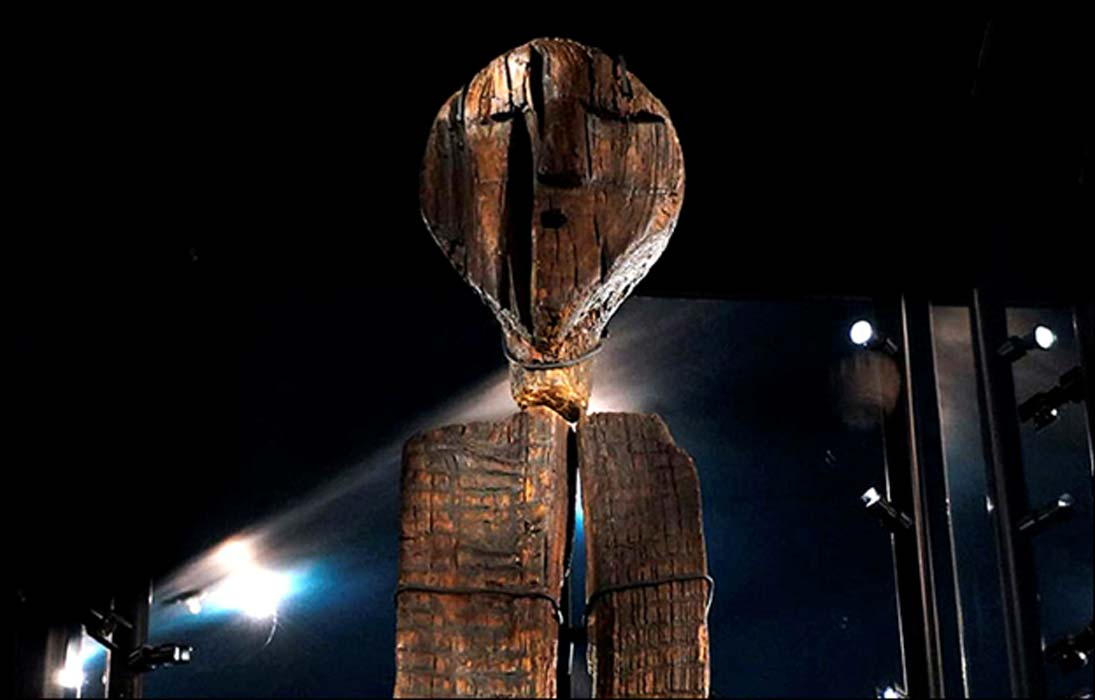 Two years ago, German scientists dated the Idol as being 11,000 years old.