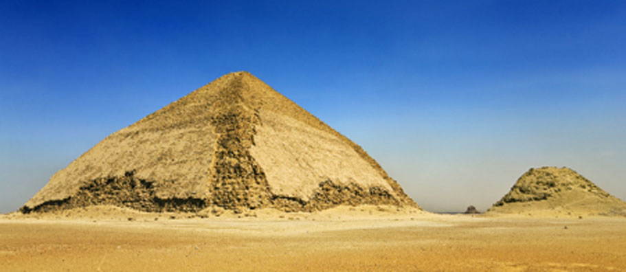 Sneferu's Distinctive Bent Pyramid Opened to the Public
