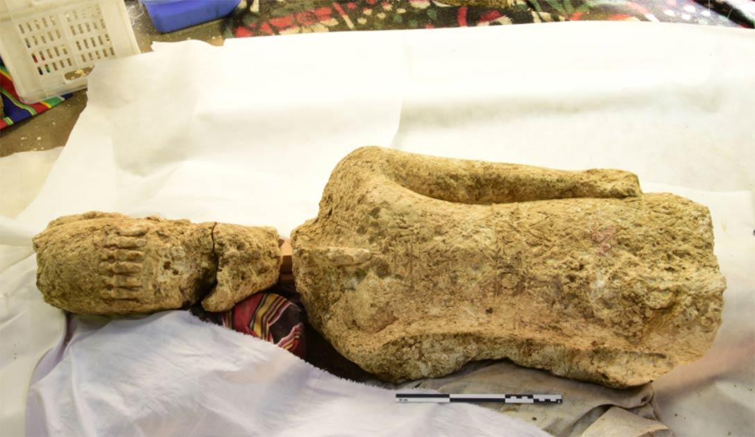 Statue identified as being Sebiumeker, god of procreation and fertility from Meroe in present-day Sudan. Source: K. Braulinska / PAP