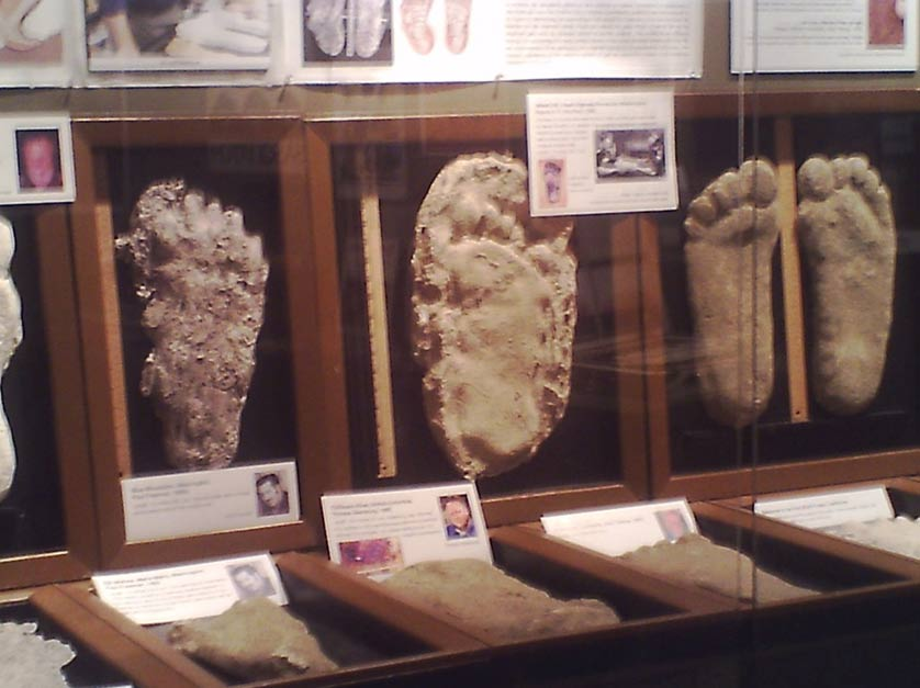 Is there archaeological evidence of bigfoot part ii ancient bigfoot casts by ya ya2001 sciox Images