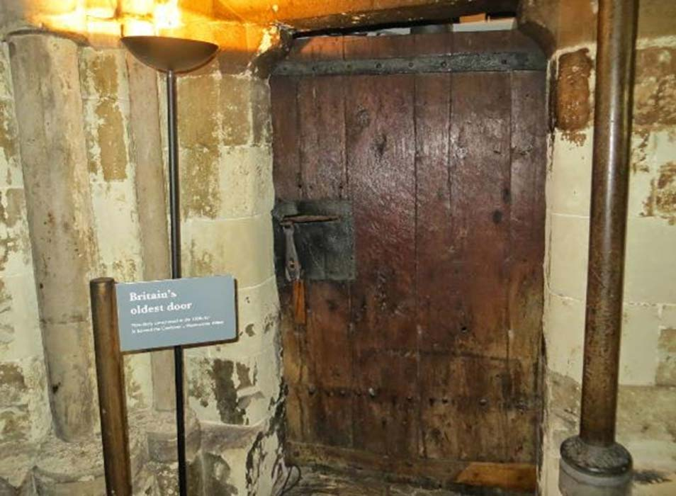 Britain's Oldest Door is in Westminster Abbey