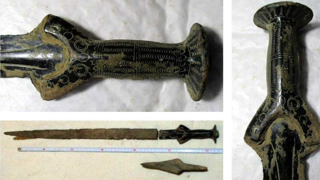 Czech Mushroom Hunter Finds 3,300-Year-Old Bronze Age Sword
