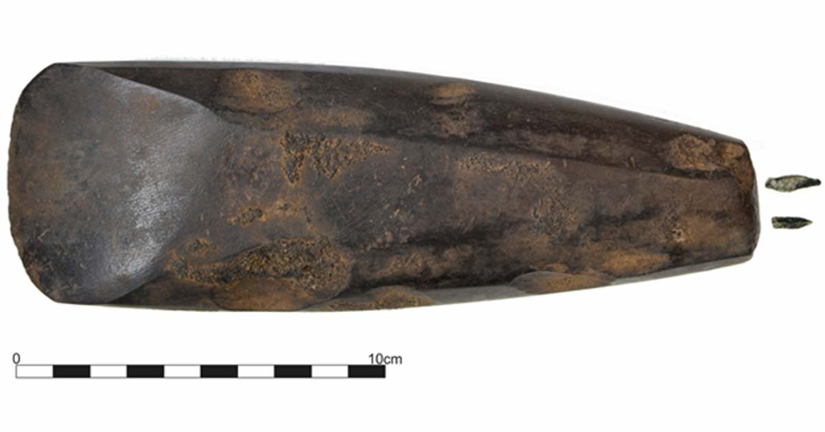 Oldest Human Burial and Polished Axe Unearthed in Ireland